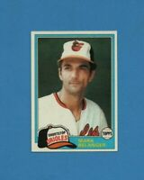 1981 Topps Set Break #641 Mark Belanger Baseball Card *EX-EXMINT