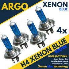 4 X H4 472 Xenón Azul Hielo 100w Luces Bombillas Del Faro Kit 12v Hid