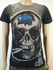 Minute Mirth Shirt.neu.Trash Smoking Brain Skull Art Vintage Design Streetwear
