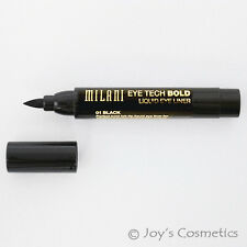"1 MILANI Eye Tech Bold Liquid EyeLiner - ""MTB 01 - Black"" Joy's cosmetics"