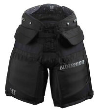 New Warrior Swagger ice hockey goalie pants sr small black senior goal S pant