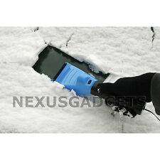 Blue Car Heating Ice Snow Melter Window Scraper Winter DeIcer (PACK OF 24)
