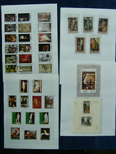 UAE Fujeira Ajman Dubai Stamp Collections Mint & Used on Loose Album Leaves