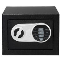 Electronic Digital Depository Drop Cash Safe Box Gun Jewelry Home Hotel Lock Box