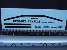 DECALS 1/43 RENAULT 4L FOURGONNETTE ASSISTANCE RENAULT - T453
