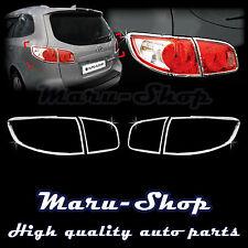 Chrome Rear Tail Light Lamp Cover Trim for 07~09 Hyundai Santa Fe