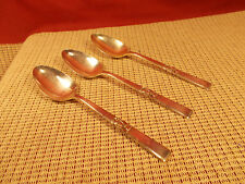 Oneida Silverplate Flatware Morning Star Pattern 3 Place/Oval Soup Spoons 7 3/8""