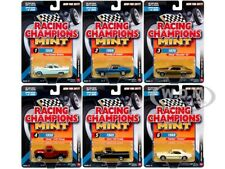 2017 MINT RELEASE 3 SET A SET OF 6 CARS 1/64 DIECAST BY RACING CHAMPIONS RC005 A