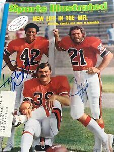 Kick - Warfield Signed Sports Illustrated -July 28 1975