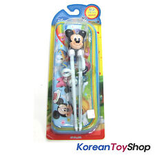 Disney Mickey Mouse Training Chopsticks & Zipper Case Set Right Handed M. Korea