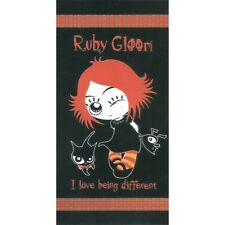 Serviette Drap de plage Ruby Gloom strandtuch beach towel coton