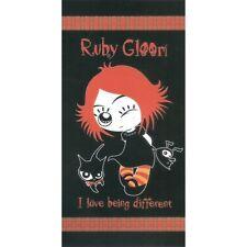 Serviette de plage Drap de bain Ruby Gloom strandtuch beach towel coton