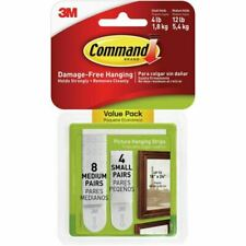 3M Command 17203 Picture Hooks - White (24 Strips)