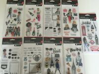 Rongrong Clear Acrylic Stamp Set by Hampton Art NEW YOU PICK