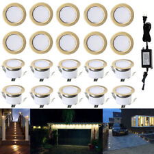 20X Bronze 31mm 12V Outdoor Yard Patio Kitchen LED Deck Rail Stair Step Lights