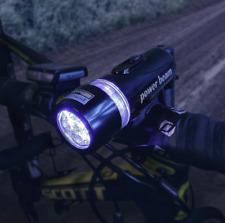 LED Fahrrad Licht Fahrad Scheinwerfer Fahrradlampe Fahrradbeleuchtung Lampe Set
