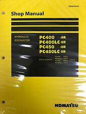 Komatsu PC400-8R PC400LC-8R PC450-8R PC450LC-8R Service Repair Printed Manual