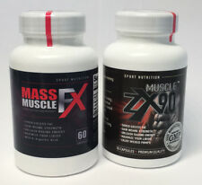 Muscle ZX90 & Mass Muscle FX - Premium Bodybuilding Supplements