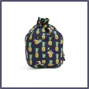 NWT Vera Bradley Ditty Bag Travel Gym Shoes Wet Suit Sack in Toucan Party