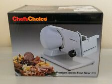 Chef'sChoice Premium electric food slicer Model 610 chef's choice NEW IN BOX