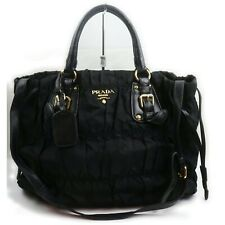 Prada Shoulder Bag  Black Nylon 1405491