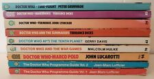 Lot of 9 Doctor Who Paperback Books
