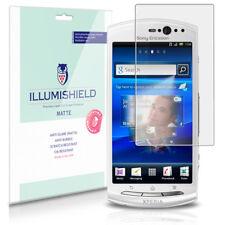 iLLumiShield Anti-Glare Matte Screen Protector 3x for Sony Ericsson Xperia Neo V