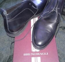 BRUNO MAGLI  BLACK 100% SOFT LEATHER LIGHTWEIGHT BOOTS SHOES ITALY NEW BOX