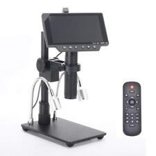 HAYEAR Full HD 2160P 1080P 4K HDMI Microscope Camera with 300X Optical Lens Adap