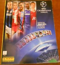 ALBUM CALCIATORI PANINI UEFA CHAMPIONS LEAGUE 2010 - 2011 - COMPLETO C.V. MV6/17