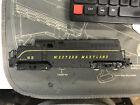 AHM HO Train Western Maryland EMD BL-2 Powered Diesel Locomotive