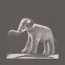 Vintage Knitting Pattern ~ Eddie the Elephant Stuffed Animal Toy