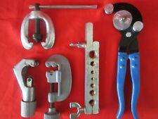 4 pc Tube Cutting/Flaring & Bending Tool Kit