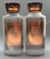 Bath & Body Works Warm Vanilla Sugar Body Lotion 8oz-2 Pack