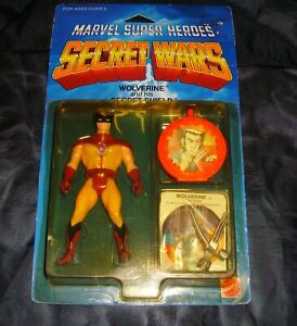1984 Marvel Super Heroes Secret Wars Wolverine Action Figure Silver Claws NIP