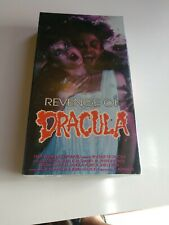Revenge of Dracula (VHS) Dura Vision Incorporated Sealed ~ Rare~