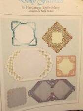 Doily Favorites In Hardanger Embroidery Booklet By Betty Stokoe-6 Designs