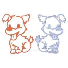Dog Metal Cutting Dies Stencil DIY Scrapbooking Album Paper Card Craft Embossing