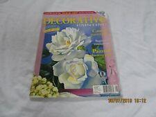 australian decorative painting  vol 12 no 11  with pattern free uk P&P