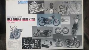 GUNZE BSA DBD34 GOLD STAR 1/12 Plastic model Kit High tech model