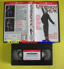 VHS film TUTTOBENIGNI 95/96 Roberto Benigni 1996 CECCHI GORI 3213 (F149*) no dvd