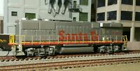 HO ATHEARN RTR SF GP60B WITH TSUNAMI 2 DCC AND SOUND,CURRENT KEEPER AND KADEES