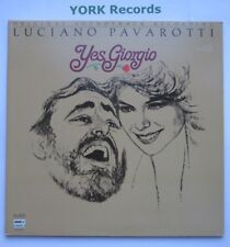 YES, GIORGIO - Film Soundtrack LUCIANO PAVAROTTI - Ex LP Record Lobdon PDV 9001