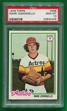 1978 Topps Mark Lemongello #358 Gem Mint PSA 10