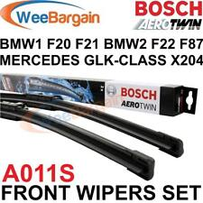 BMW 1 Series (F20 F21) 2011 Onwards BOSCH A011S Aerotwin Front Wiper Blades Set