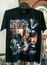 Kizz hard rock band  rock chang T-shirt Unisex Size M.