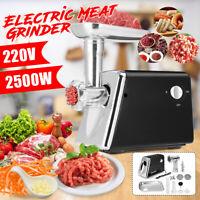 500W Electric Meat Grinder Mincer Sausage Filler Maker Machine Stuffer Kitchen