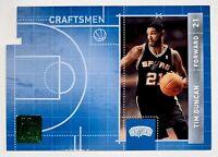 2010-11 Donruss Tim Duncan Craftsmen SP Die Cut Insert #15 San Antonio Spurs