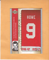 2003 04 UPPER DECK MR HOCKEY #GH15 GORDIE HOWE DETROIT RED WINGS