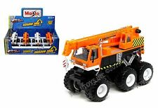MAISTO FRESH METAL - BUILDER ZONE: QUARRY MONSTERS - CRANE TRUCK 24191C
